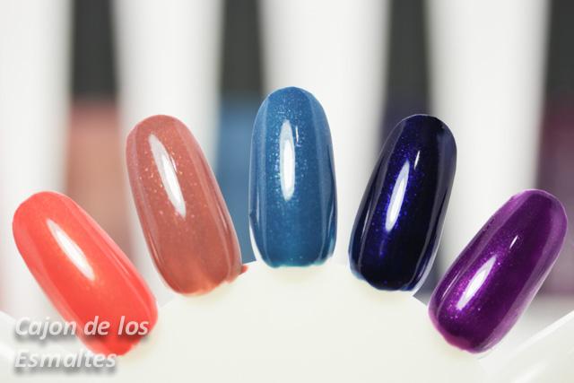 esmalte de uñas avon colortrend invierno swatches
