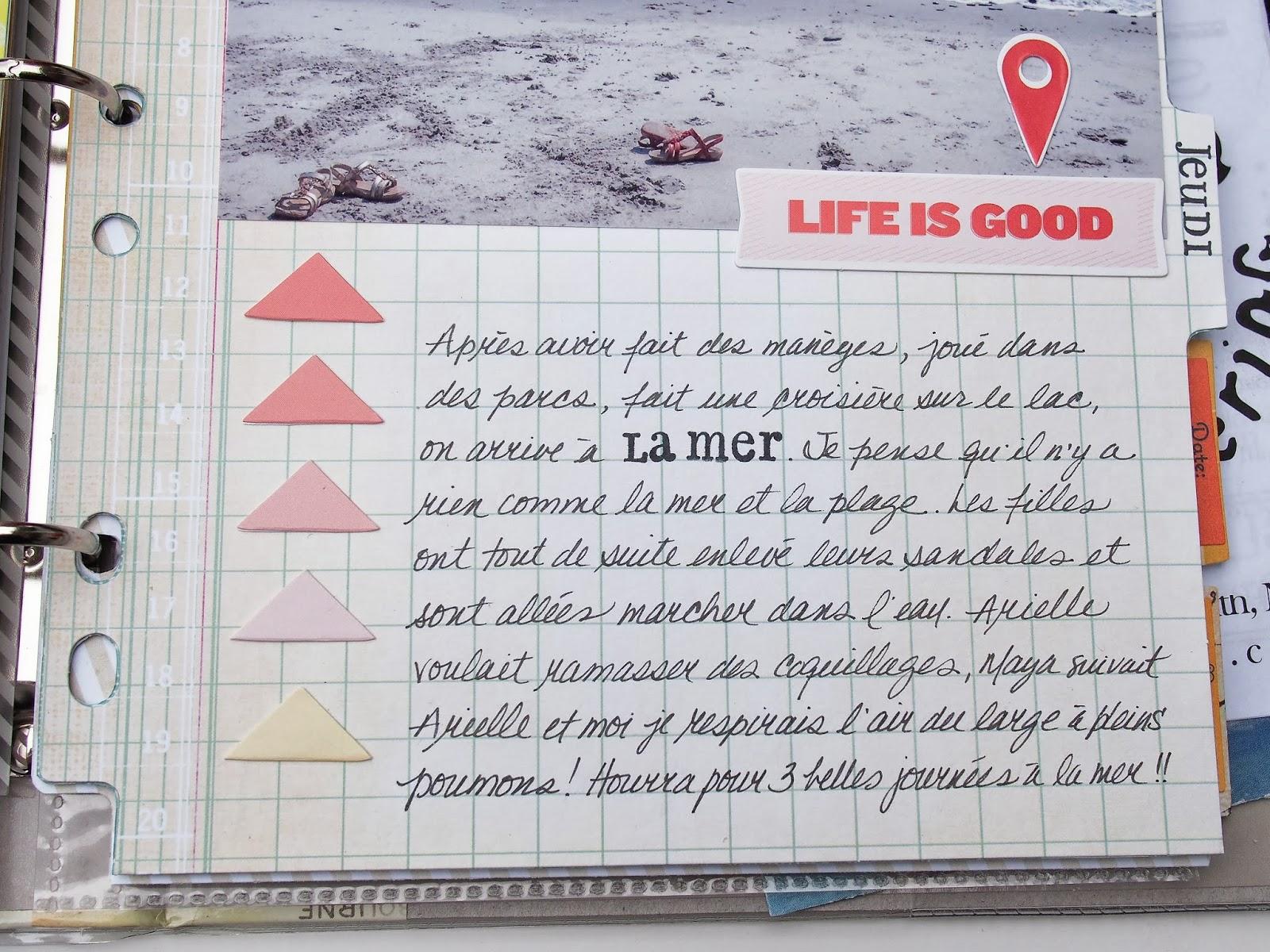 marie pierre a travel mini book