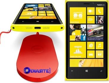 nokia lumia 920 wireless charging