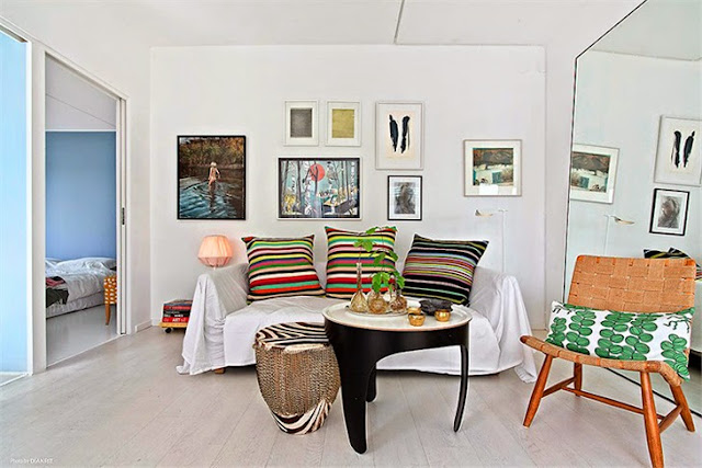 Skandinavisches Design im Alltag – lichtdurchflutetes Weiß und Designklassiker als Möbel, Leuchten und Accessoires
