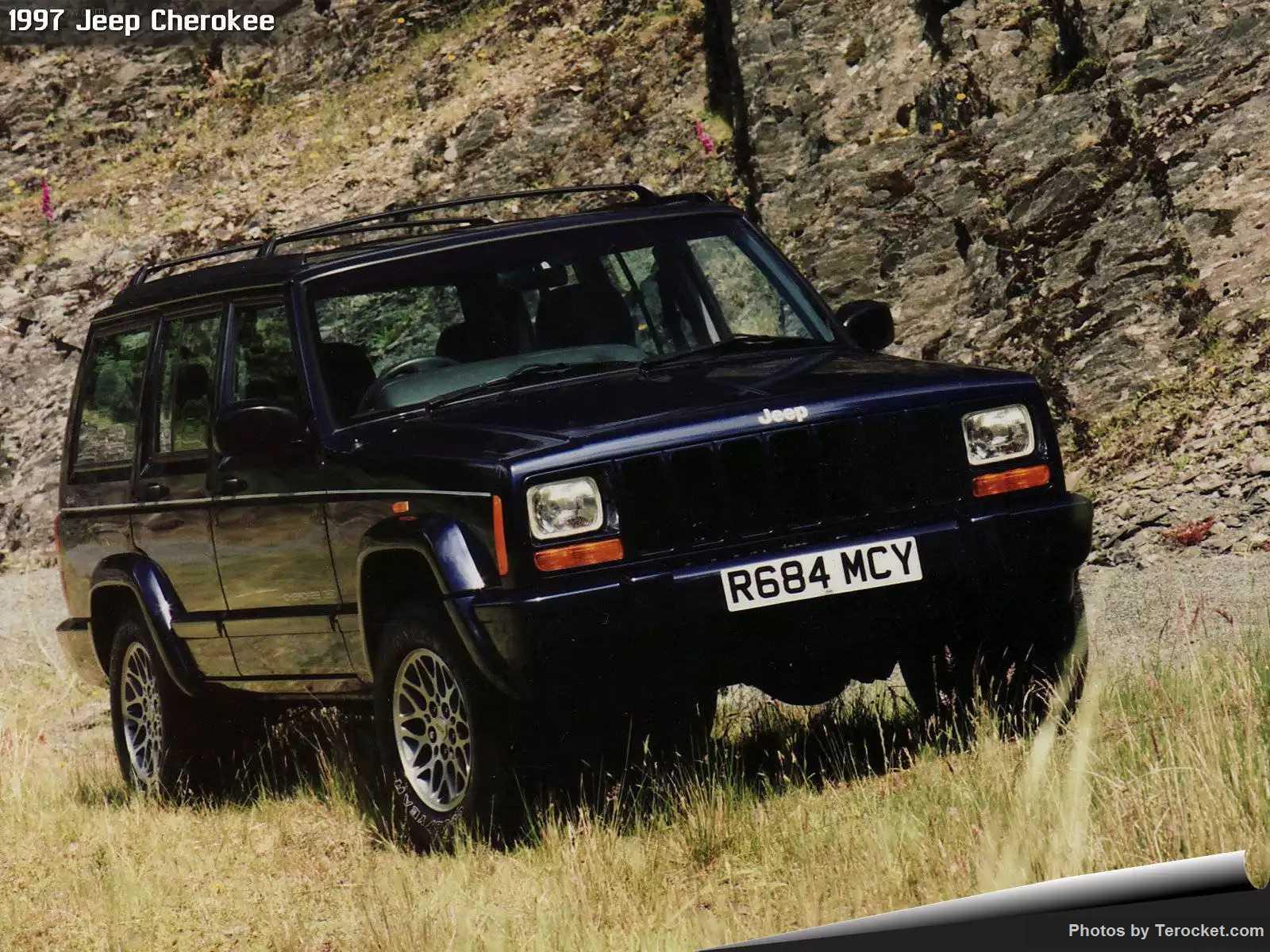 Hình ảnh xe ô tô Jeep Cherokee UK Version 1997 & nội ngoại thất