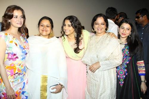 Vidya Balan and Dia Mirza Unveil Bobby Jasoos Movie Trailer