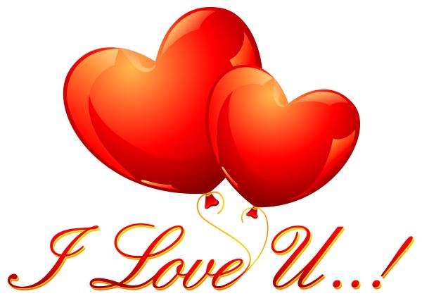 I Love U Hearts Symbols Emoticons