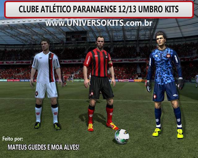 Screen FIFA 12: Uniforme Atlético PR 12/13