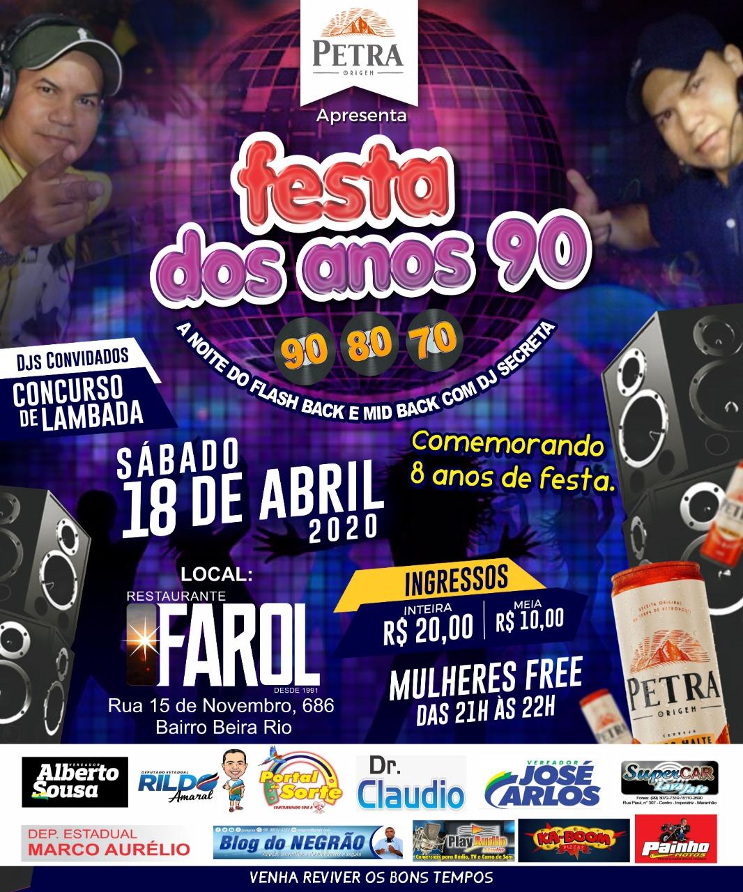 FESTA DO ANOS 90