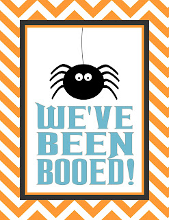 Sizzling image with we ve been booed printable
