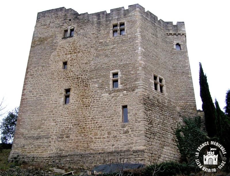 MOLLANS-SUR-OUVEZE (26) - Château-fort