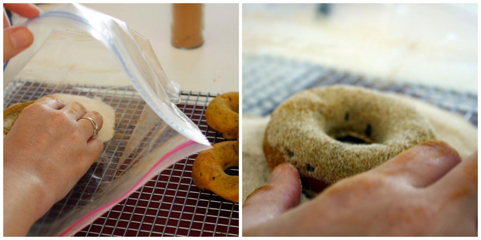 Cinnamon sugar for dougnuts