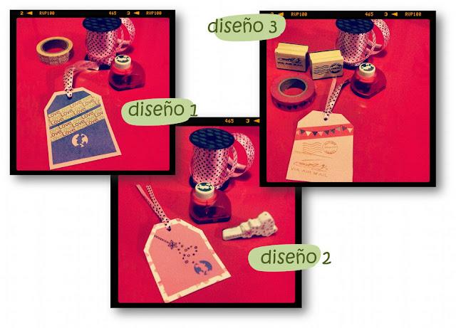 Diseños de etiquetas para regalos