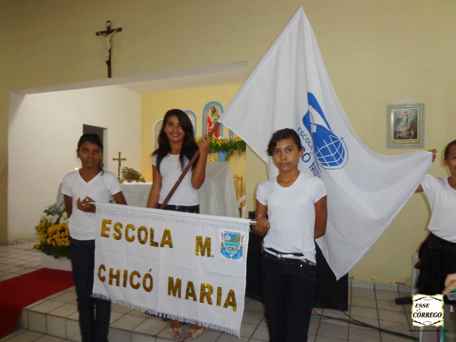 Chicó Maria na festa de São Mateus