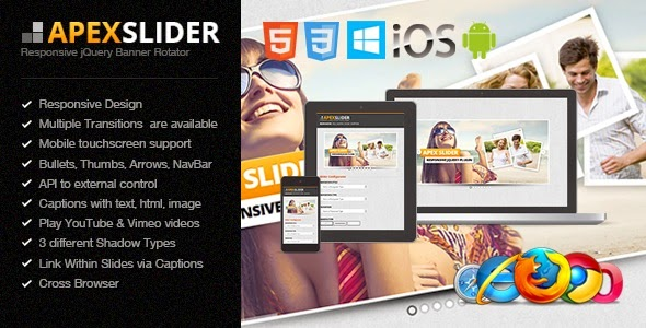Apex Slider Responsive - WordPress Plugin