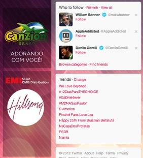Hashtag #NaCasaDosProfetas entra no TOP trends do Mundo!