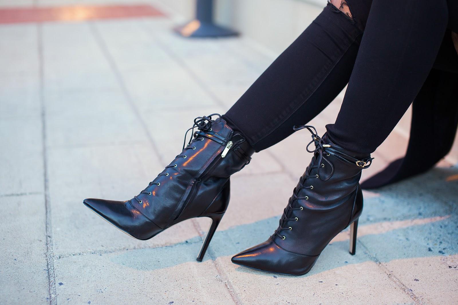 Sam edelman Bryton leather ankle boots, www.jadore-fashion.com