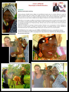 Reportage Mireille Nzoubou sur Canal +