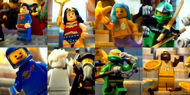 J and J Productions: The Lego Movie Spoilers and References