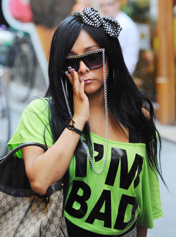 jersey shore italy snooki. Snooki taken into custody in