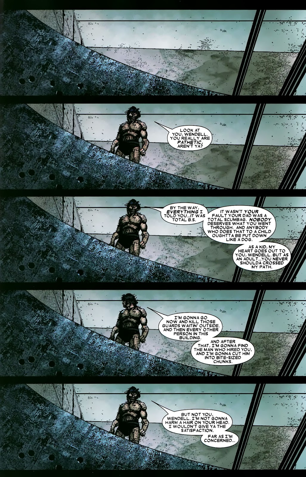 Read online Wolverine (2003) comic -  Issue #56 - 34