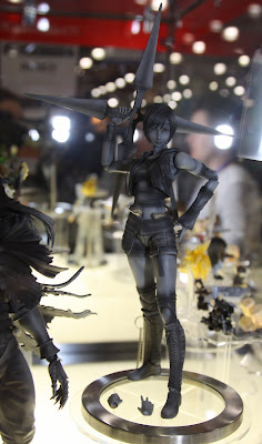 Square Enix Play Arts 2013 Toy Fair Display - Final Fantasy Yuffie figure