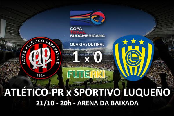 Veja o resumo da partida com o gol e os melhores momentos de Atlético-PR 1x0 Sportivo Luqueño pelas quartas de final da Copa Sul-Americana 2015.