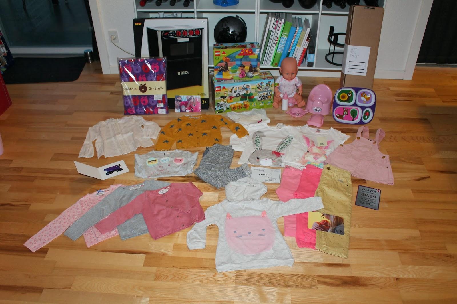 gaveideer til 1 års fødselsdag