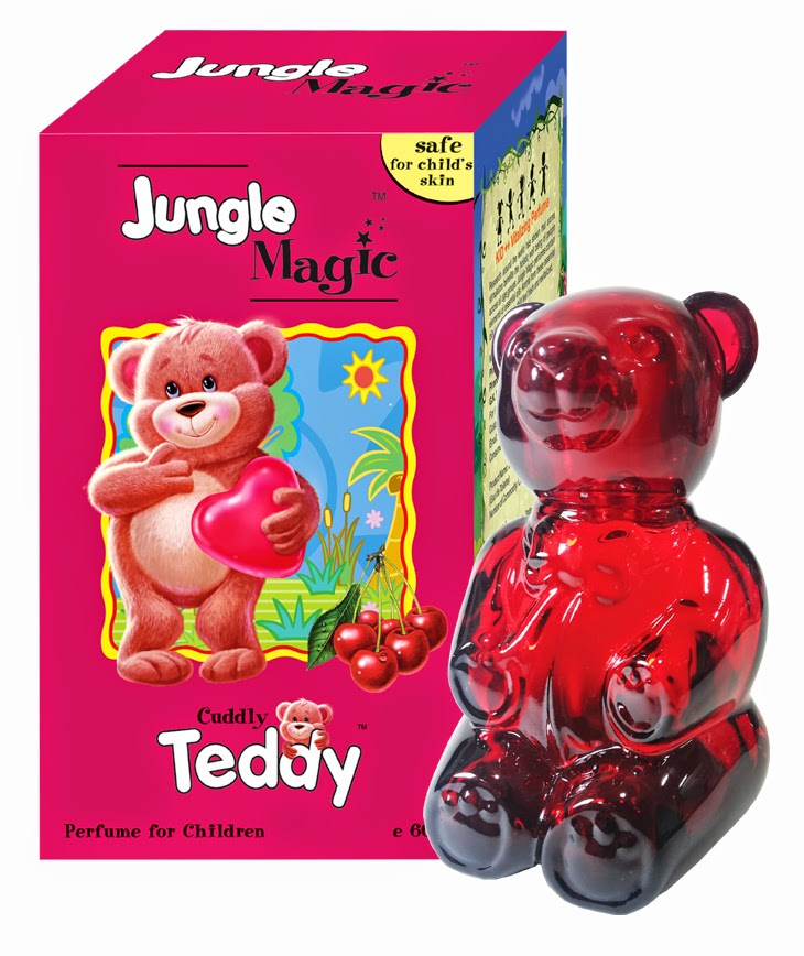 Pefumes For Kids by Jungle Magic - Made Of Essential Oils and Deratologically Tested - Cuddly Teddy