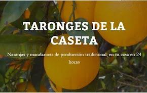 Este ano as laranxas veñen directas desde Pedreguer...