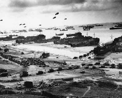 Perang Normandia - 6 Juni, 1944 sampai 24 Juli 1944