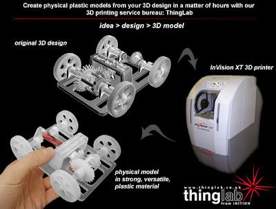 Printer Dengan Hasil Cetakan Objek 3D
