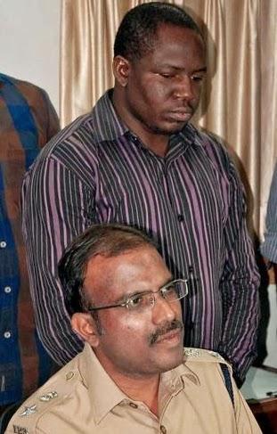 nigerians arrested new delhi india