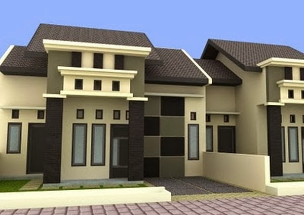 model rumah minimalis Type 451