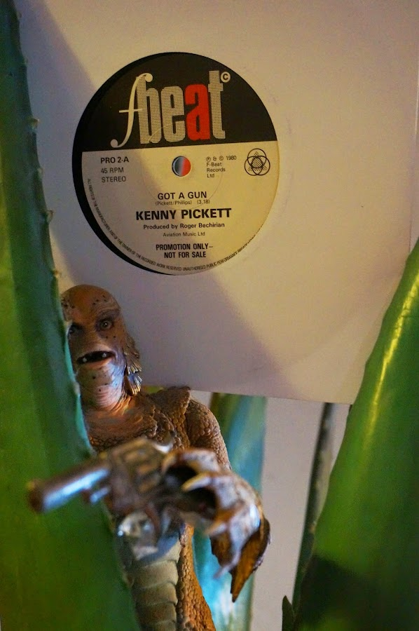 Kenny Pickett - Got a gun - 1980 - F-Beat Records The Creation