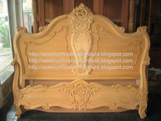 Jepara furniture supplier classic reproduction antique furniture hand made carved bed