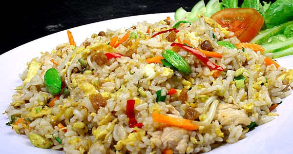 Membuat Nasi Goreng Ikan Asin Petai | Resep Cara Membuat ...
