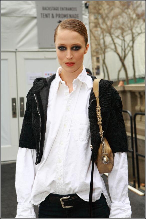 Street Style nga Modelet - Raquel Zimmermann