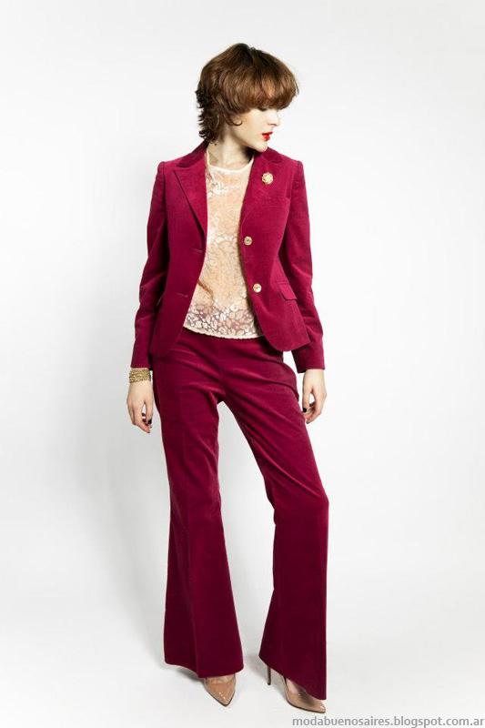 Janet Wise Invierno 2013 Moda Mujer.