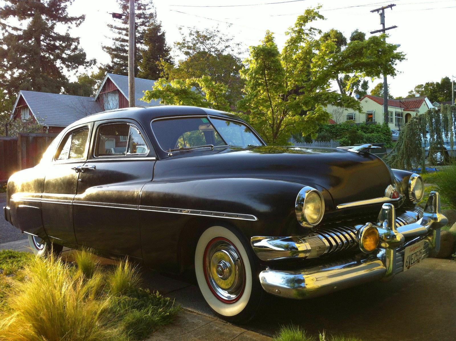 All american classic cars 1951 mercury 4 door sport sedan for 1951 mercury 4 door sedan