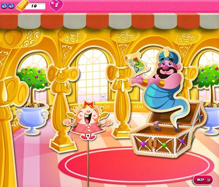 Candy Crush Saga 1011-1025 ending