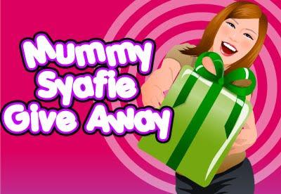 Mummysyafie GiveAway