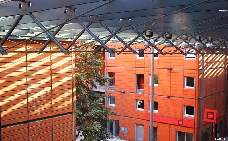 Une vue Cité internationale de Lyon
