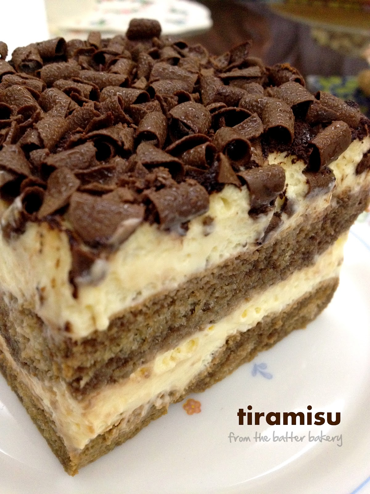 absolutely love love love tiramisu - the soft moist cake with layers ...