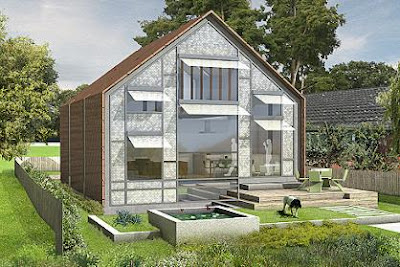 Floating house rises to flooding challenge
