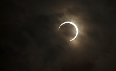 gerhana matahari cincin terlihat