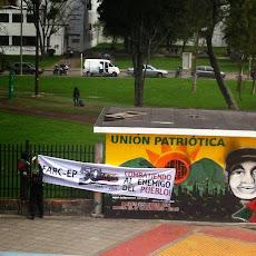 de ingang van Universidad Nacional