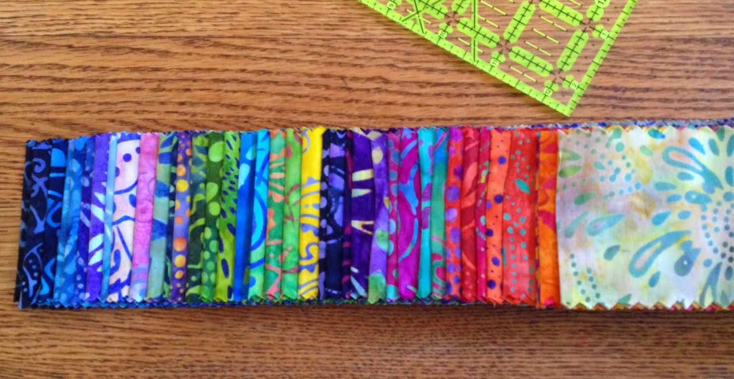 Kathleen taylors dakota dreams batik jelly roll lap quilt top batik jelly roll lap quilt top part 1 baditri Images