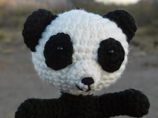 Amigurumi De Panda : daxa rabalea: Oso Panda amigurumi
