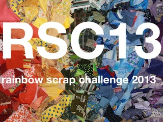 SoScrappy Rainbow Scrap Challenge 2013