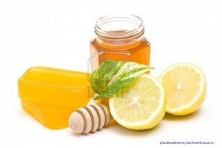 giảm cân với mật ong chanh