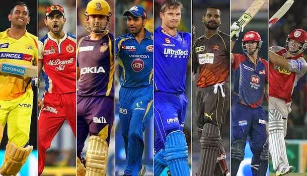IPL 8 Teams Captain