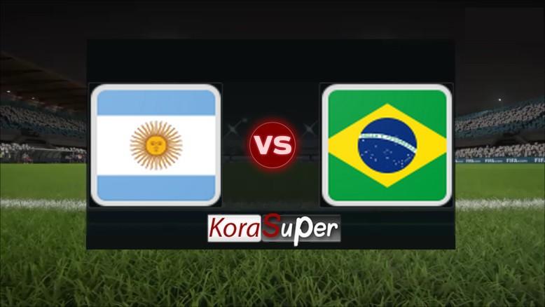 مشاهدة مباراة البرازيل والأرجنتين بث مباشر 03-07-2019