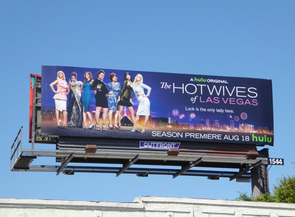 Hot Wives of Las Vegas series premiere billboard